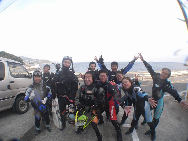 みんなで楽しくダイビング 11.24真鶴