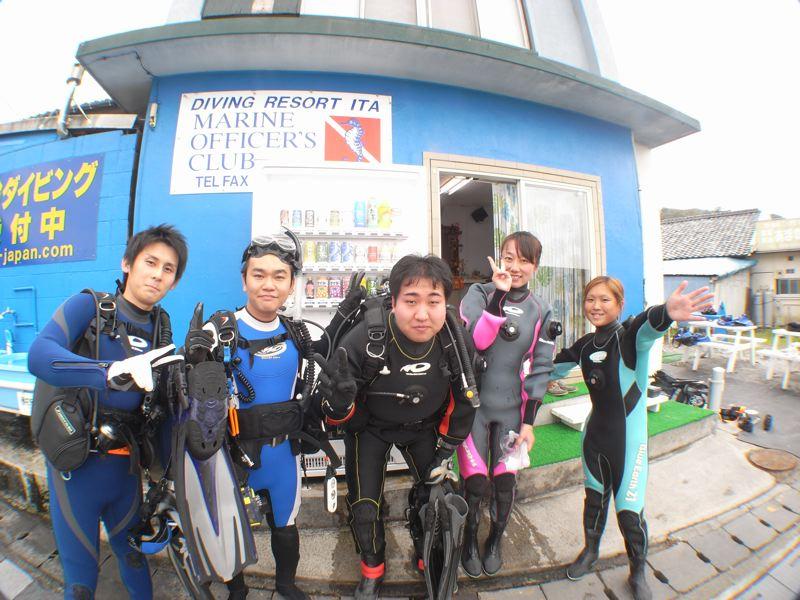 ダイビング最高! 10.25井田