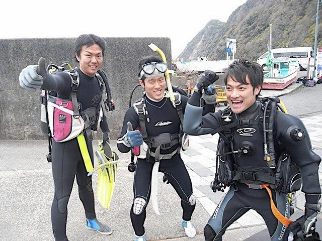 ダイビング楽しいぞ〜♪