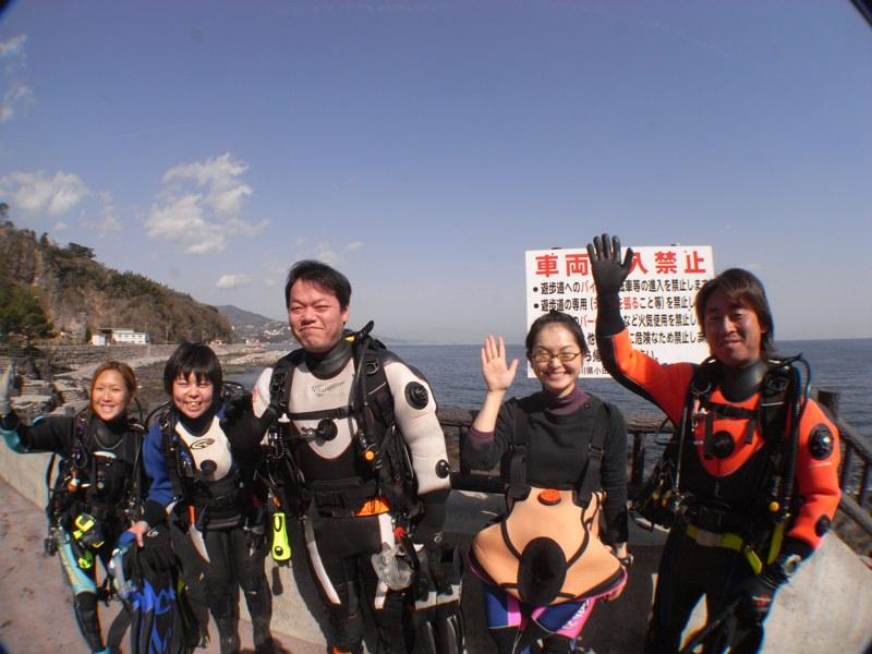 ダイビング楽しいな 2.22真鶴