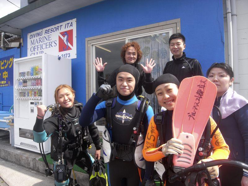井田でダイビング〜 3.28井田