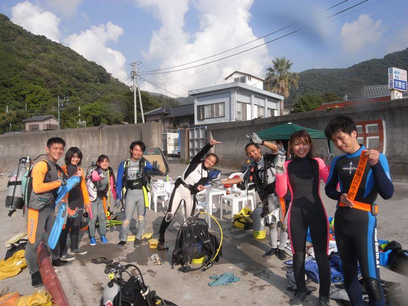 ダイビング楽し〜♪ 井田9.6