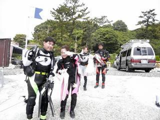 5.28 根府川ダイビングツアー エントリー