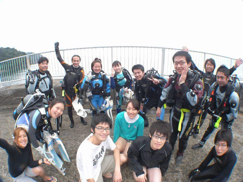 みんなでたのしくダイビング 10.11福浦