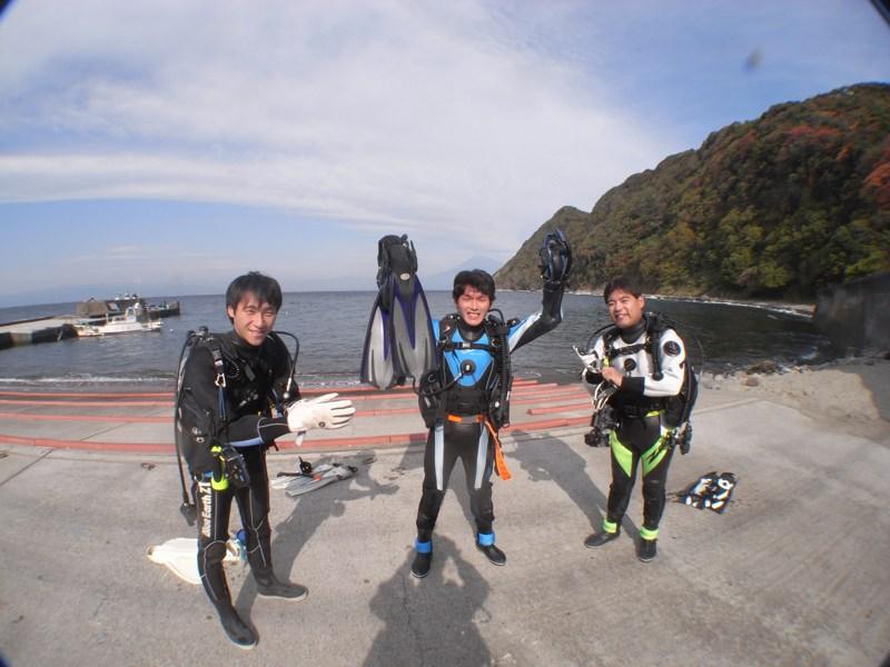 ダイビングはまってます! 11.18井田
