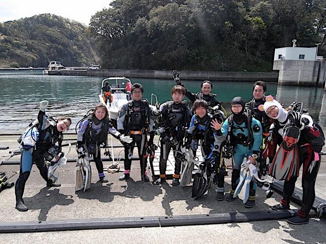 堂ヶ島ボートダイビング