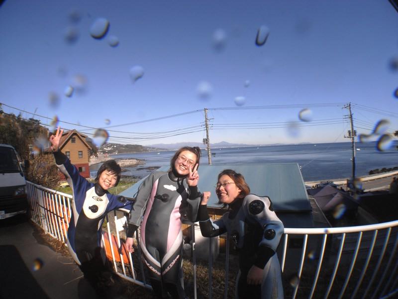 ダイビング行ってきました 1.25真鶴