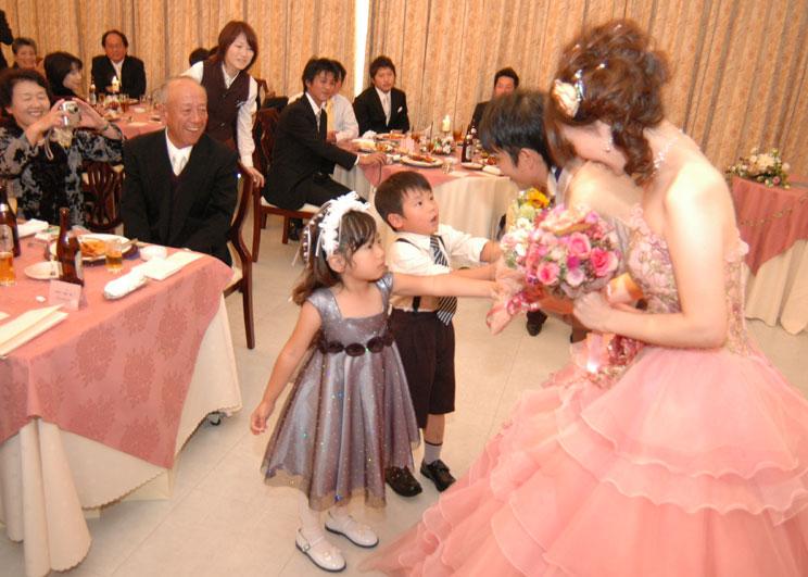 子供花束 : 【結婚式】画像で ...