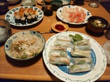 7月18日 寿司 フォー