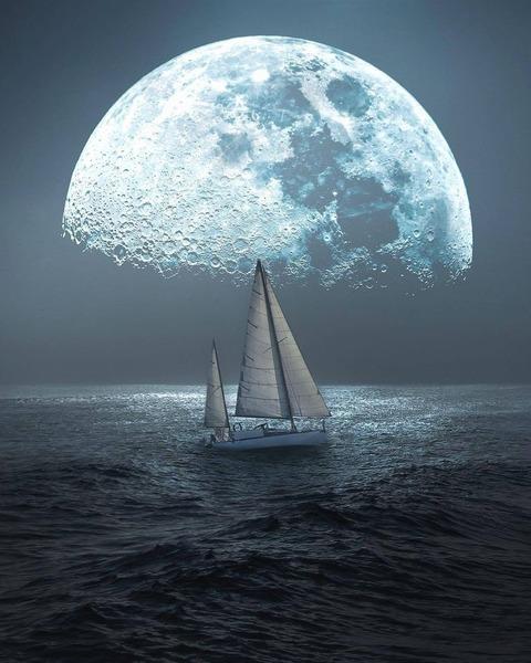 Yacht+Moon
