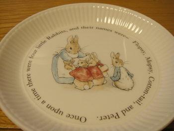 ピーターラビットのお皿