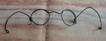 作った眼鏡