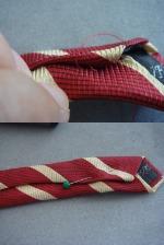 ネクタイ・まつり縫い