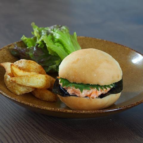 鮭マヨバーガー(7大アレルゲン不使用)