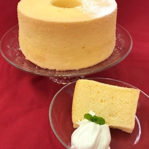 菓子用米粉(超微粉末) シフォンケーキ