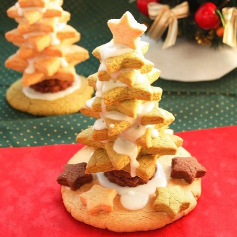 グルテンフリー クリスマスツリークッキー