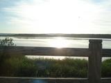 釧路湿原の夕日