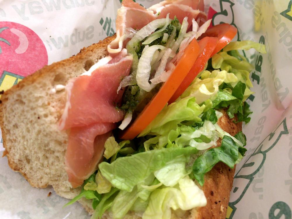 たまにはパンを食べるw@大阪梅田サブウェイ富国生命ビル店