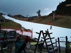 井川スキー場腕山