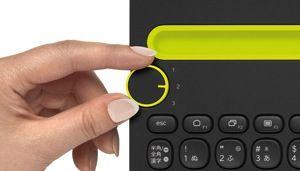 Bluetooth multi device keyboard k480