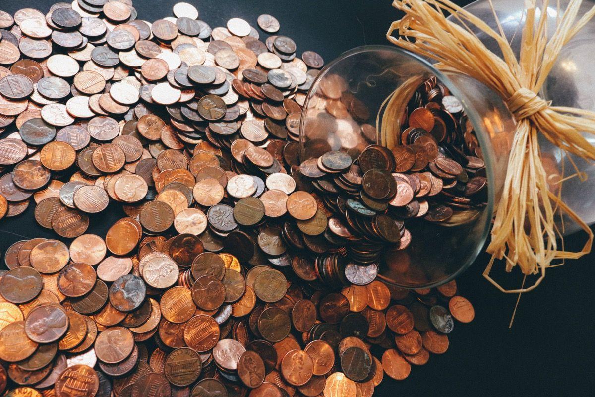 Canva  Copper colored Coin Lot