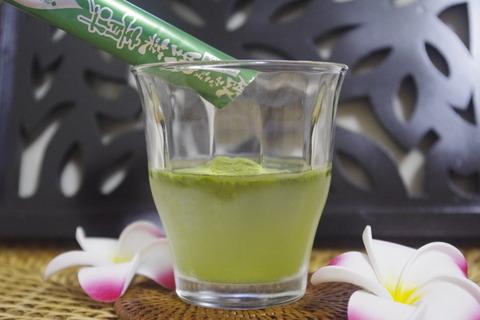 エバーライフ飲みごたえ野菜青汁の作り方2