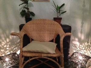 セラピーの椅子