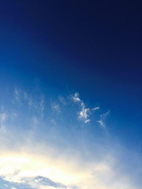 宇宙みたいな空
