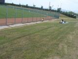 美しい芝生席を、いつまでも・・・!