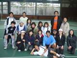 キャンプ終了後の記念写真