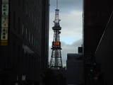 ホテルから見たテレビ塔