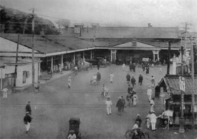 日本鉄道初代上野駅