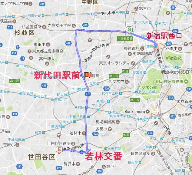 路線 図 バス 東急