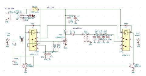 Linear amp回路図