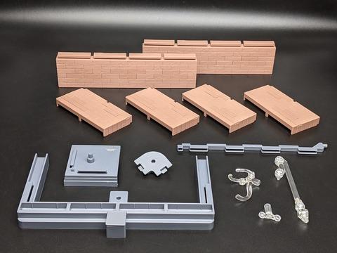 TAMASHII OPTION Brick Wall (Brown ver.) 06
