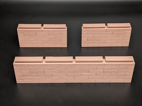 TAMASHII OPTION Brick Wall (Brown ver.) 07