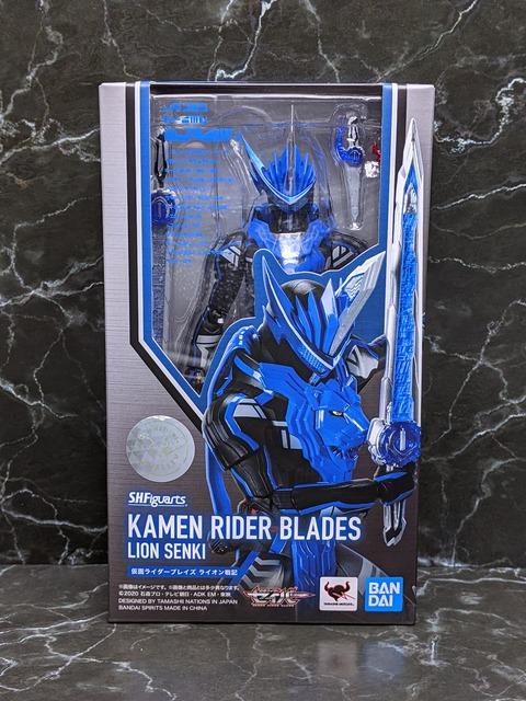 KAMEN RIDER BLADES LION SENKI 01