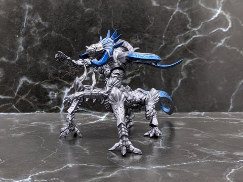 06 FINAL FANTASY CREATURES No.38 METALLIC 01z