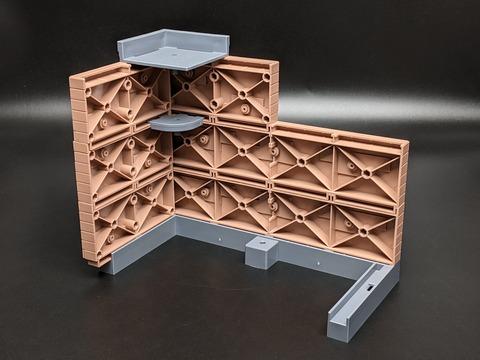 TAMASHII OPTION Brick Wall (Brown ver.) 10