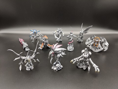 17 FINAL FANTASY CREATURES Vol.4 METALLIC COMPLETE 02