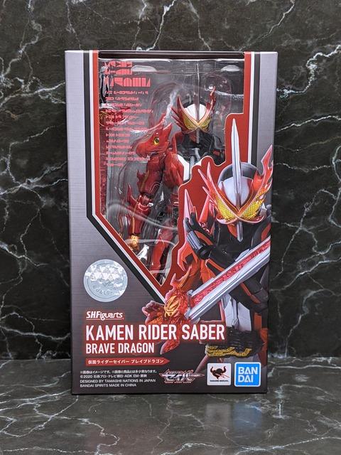 KAMEN RIDER SABER BRAVE DRAGON 01