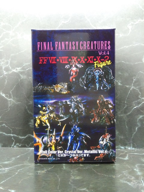 01 FINAL FANTASY CREATURES BOX Vol.4A