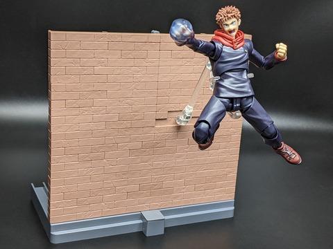 TAMASHII OPTION Brick Wall (Brown ver.) 16