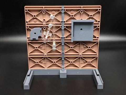 TAMASHII OPTION Brick Wall (Brown ver.) 13