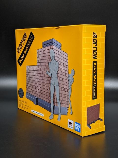 TAMASHII OPTION Brick Wall (Brown ver.) 03