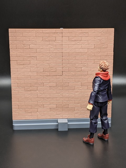 TAMASHII OPTION Brick Wall (Brown ver.) 14