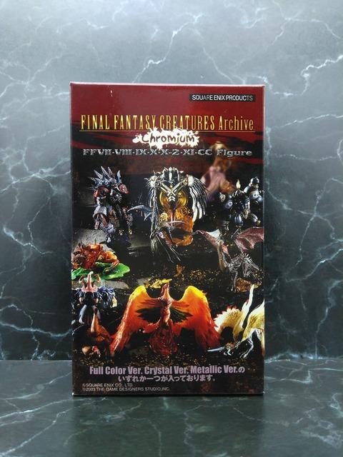 01 FINAL FANTASY CREATURES BOX Vol.5A