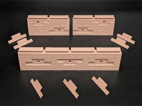 TAMASHII OPTION Brick Wall (Brown ver.) 08