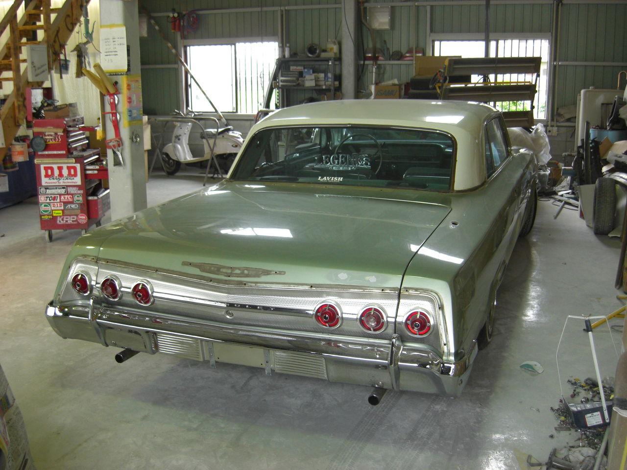 25 042 パッと見は腐食や塗装のダメージはないです  BEEF IT CARSの気合ブログ