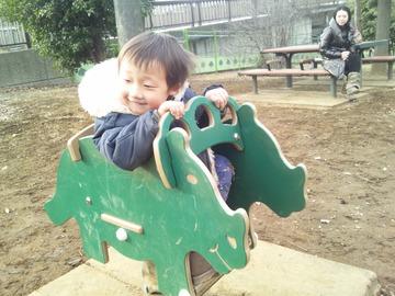 恐竜さんうふふ